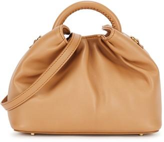 Elleme Dumpling small camel leather cross-body bag