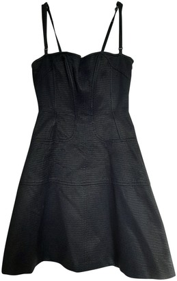 Christian Lacroix Black Cotton Dress for Women Vintage