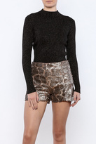 Glamorous Gold Speckled Turtleneck