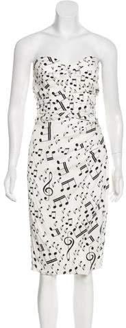 Dolce & Gabbana Printed Mini Dress w/ Tags