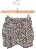Makie Girls' Floral Print Knee-Length Shorts