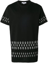 Les Benjamins printed hem T-shirt - men - Cotton - XS