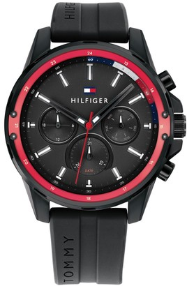 Tommy Hilfiger 1791793 Mason Analogue Watch Black