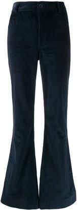 Katharine Hamnett Marina corduroy flared trousers