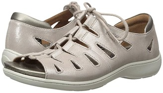 Aravon Bromly Ghillie (Taupe) Women's Sandals
