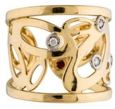 Roberto Coin 18K Diamond Chic & Shine Cuff Ring