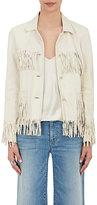 Nili Lotan Women's Frida Fringed Leather Jacket
