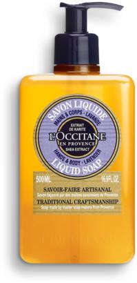 L'Occitane Shea Hands & Body Lavender Liquid Soap