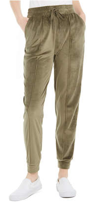 Planet Gold Juniors' Exposed-Seam Jogger Pants