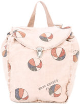 Bobo Choses ball print backpack - kids - Organic Cotton/Cotton - One Size