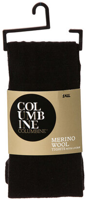 Columbine Wool Tights 332MY in Black and Navy