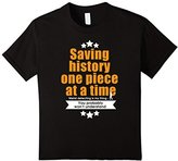 Kids Metal Detecting t shirt - Saving history one piece at a time 12