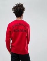 HUF Exodus Sweatshirt With Back Embroidered Print