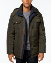 London Fog Men's Hooded Puffer Parka