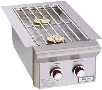 American Outdoor Grill L Series Double Drop-In Side Burner American Outdoor Grill