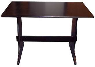 Buylateral Nook Dining Table Wood/Black - TMS