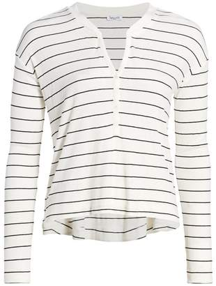Splendid Stripe Henley T-Shirt