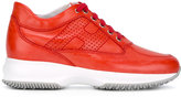 Hogan lace-up sneakers - women - Leather/rubber - 35.5
