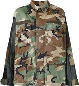 Forte Couture - camouflage shirt jacket - women - Cotton/Nylon - 40