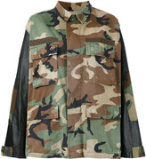 Forte Couture camouflage shirt jacket