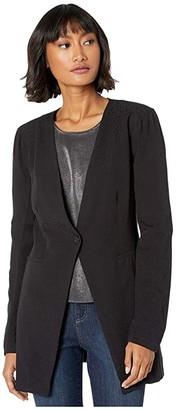BCBGeneration Long Sleeve Blazer TJA4234882 (Black) Women's Clothing