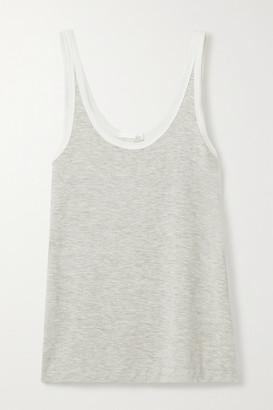 Skin - Leslie Stretch-jersey Tank - Gray