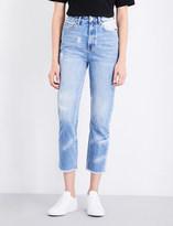 Ksubi Marbled boyfriend high-rise jeans