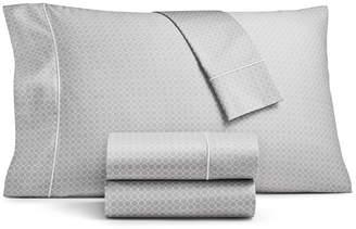Sunham Fairfield Square Collection Waverly Cotton 450-Thread Count 4-Pc. Twin Sheet Set Bedding