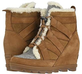 Sorel Joan of Arctictm Wedge II Cozy (Camel Brown) Women's Cold Weather Boots