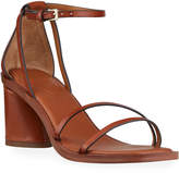 Franco Sarto Ronelle Leather Ankle-Strap Sandals