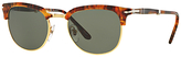 Persol PO3132S Polarised Half Frame Oval Sunglasses