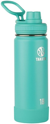 Takeya Teal Active Insulated 18 oz. Stainless Steel Monochromatic Bottle
