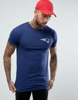 Majestic Patriots Longline T-Shirt