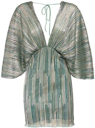Rotate by Birger Christensen Ester Lurex Mini Dress