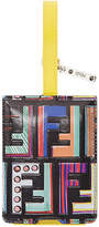 Fendi logo luggage tag