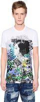 DSQUARED2 Geisha Printed Washed Jersey T-Shirt