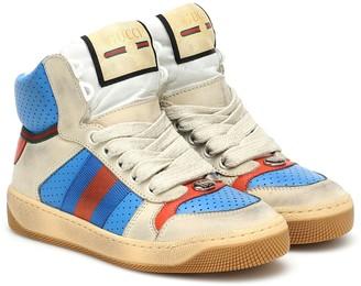 Gucci Kids Screener high-top sneakers