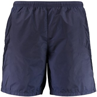 Prada Metal Nylon Swim Shorts