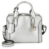 Alexander McQueen Padlock Leather Mini Crossbody Bag