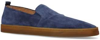 Rodi Henderson Baracco Suede Slip-On Shoes