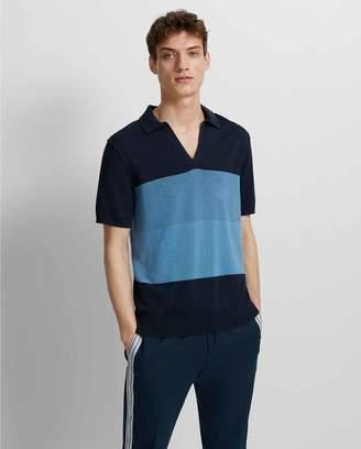 Club Monaco Plaited Johnny Collar Sweater