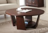 Furniture of America 31-Inch Zoe Round Coffee Table, Large