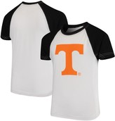 Unbranded Tennessee Volunteers Wes & Willy Youth Swim Rash Guard T-Shirt - White/Black