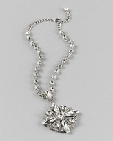 Luxe Crystal Pendant Necklace