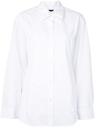 Eudon Choi Double Collar Cotton Shirt