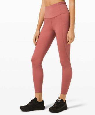 """Lululemon Fast and Free Super High Rise Tight 25"""" Elite"""