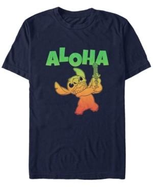 Fifth Sun Men's Aloha Stitch Short Sleeve T-Shirt