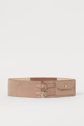 H&M Pocketed Waist Belt - Beige