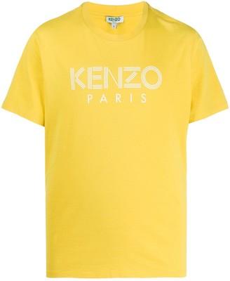 Kenzo logo print slim-fit T-shirt