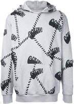 Palm Angels patchwork hoodie